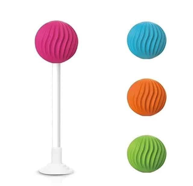 Lollypop 棒棒糖|四款紋路 四色隨機|電動按摩棒