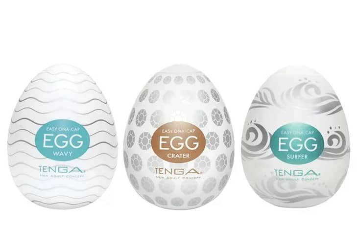 分享到 2 TENGA EGG組合|WAVY+CRATER+SURFER 自慰蛋三合一